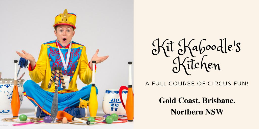Kit Kaboodle's Kitchen School Incursion QLD