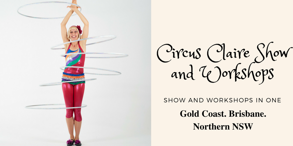 Circus Claire Show School Incursions QLD
