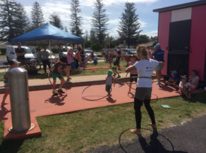 Circus Workshops at Yamba Plunge Festival