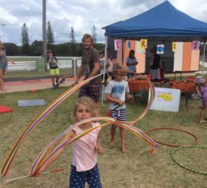 Yamba Plunge Festival circus workshops