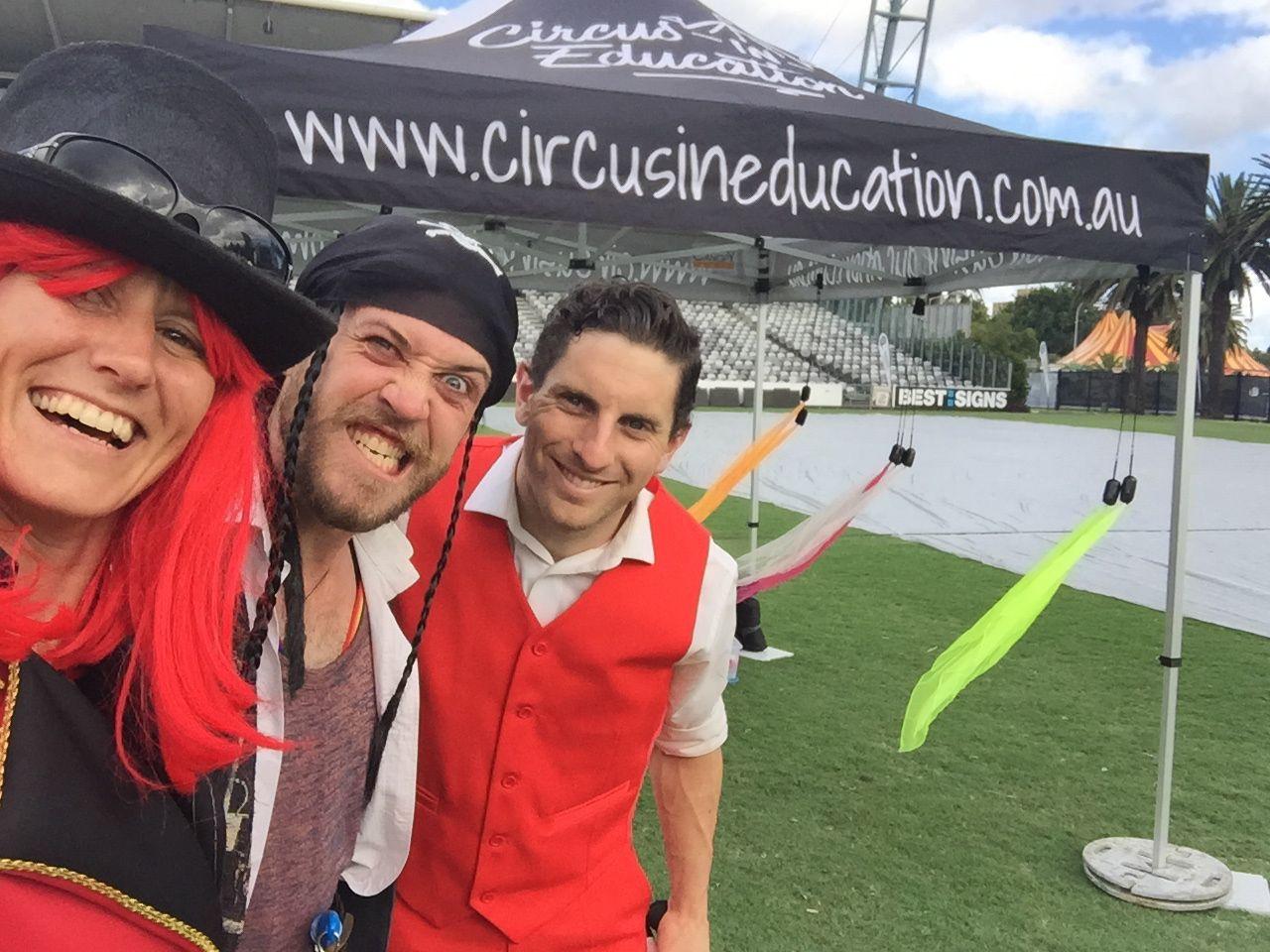 circus incursion outdoor
