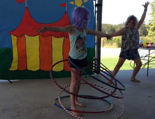 Circus Workshops Encourage Fitness and Fun