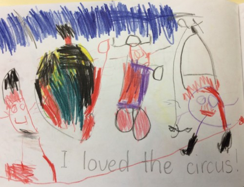 Students from Lawrence Public School Respond to Circus