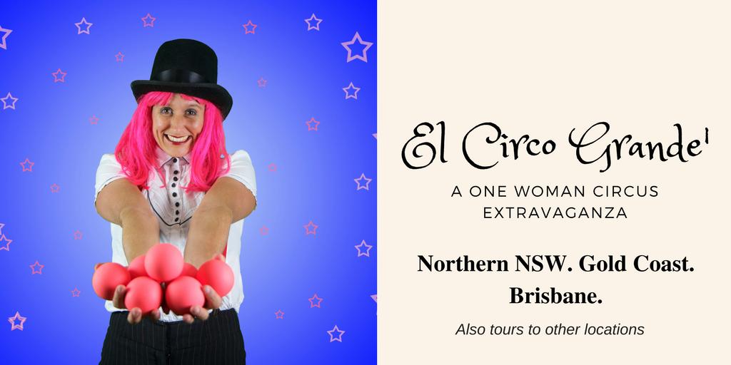El Circo Grande' School Incursion NSW QLD